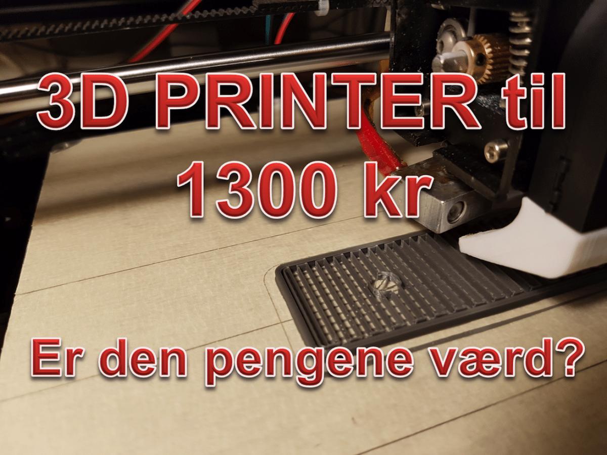 Køb en 3d printer!