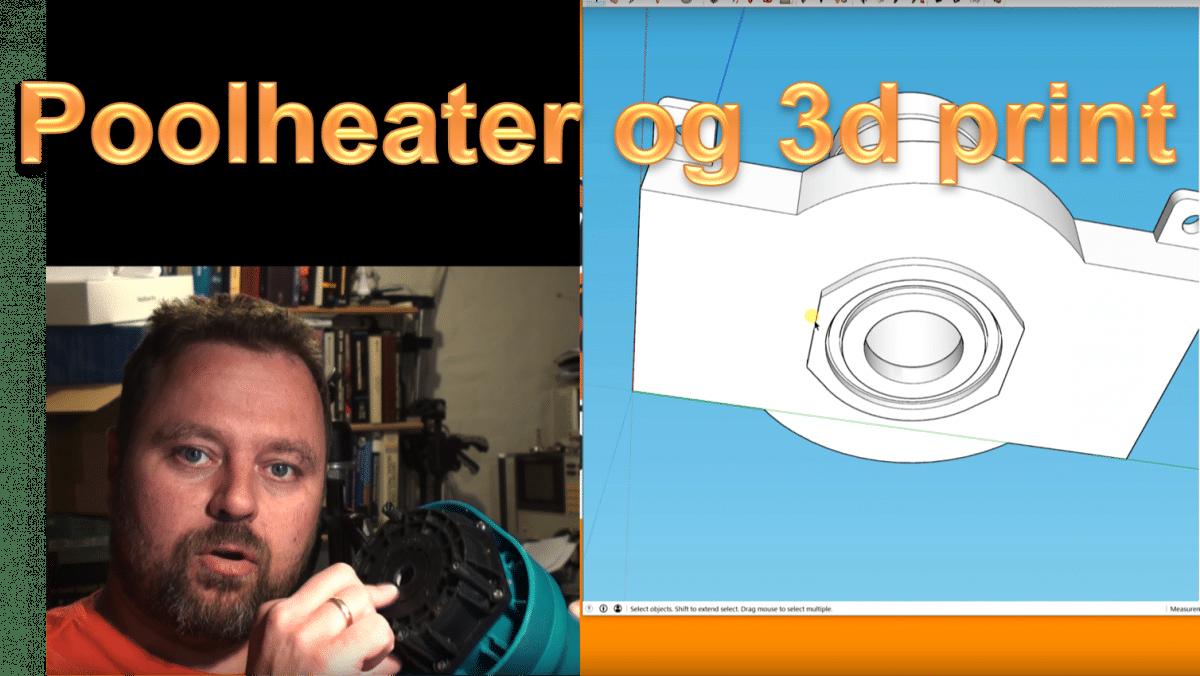 Opgradering af poolheateren: Fra dykpumpe til poolpumpe med 3d print