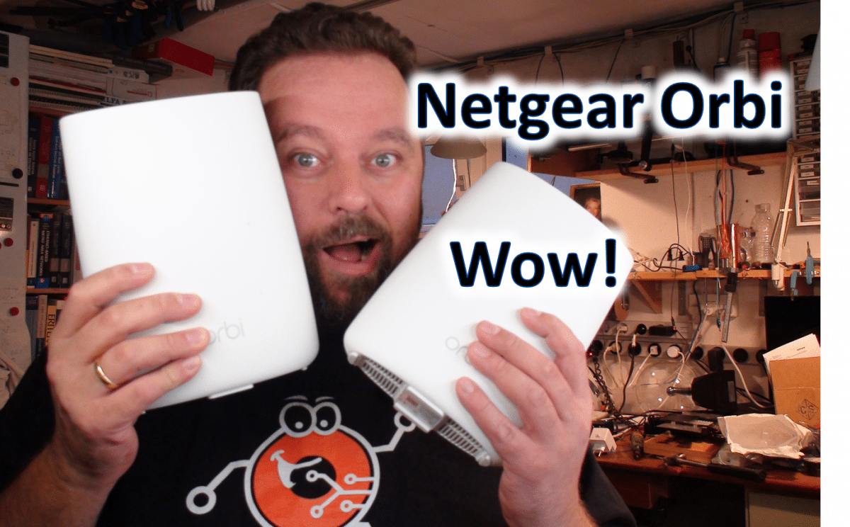 Wi-Fi test: Netgear Orbi… Wow!!