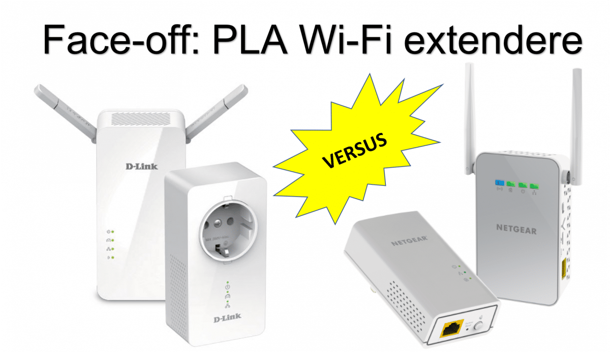 Face-off: Netgear versus D-Link Wi-Fi extendere med PLA backhaul