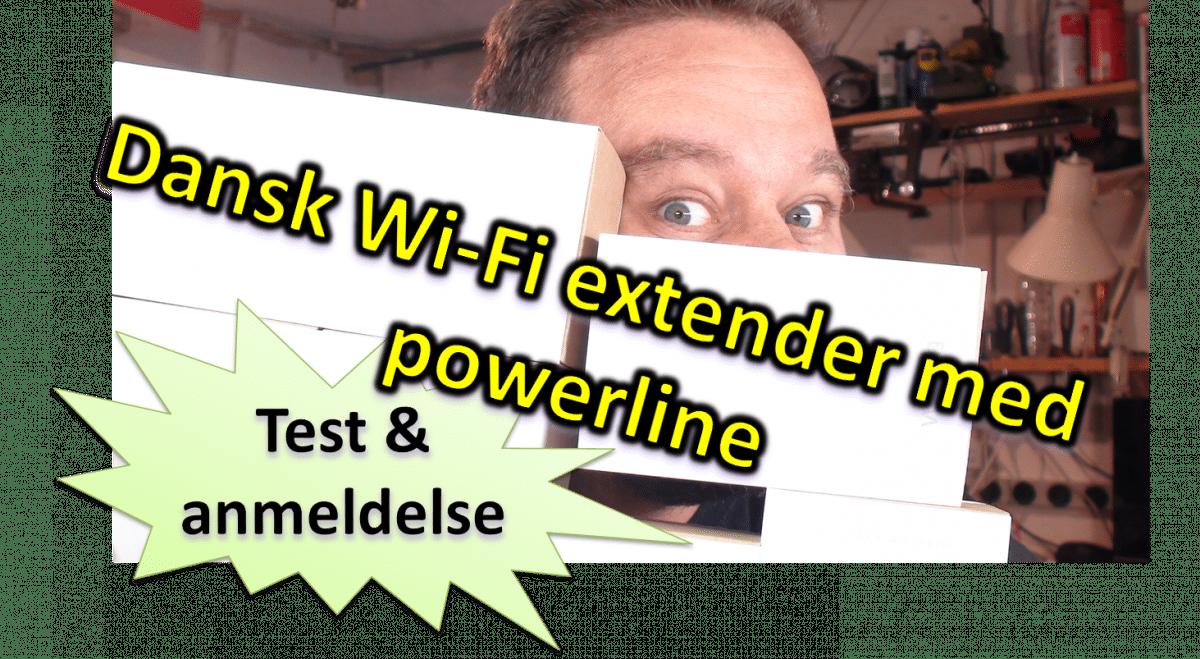 TEST: Dansk udviklet Wi-Fi extender: Wave2 powerline fra DKT