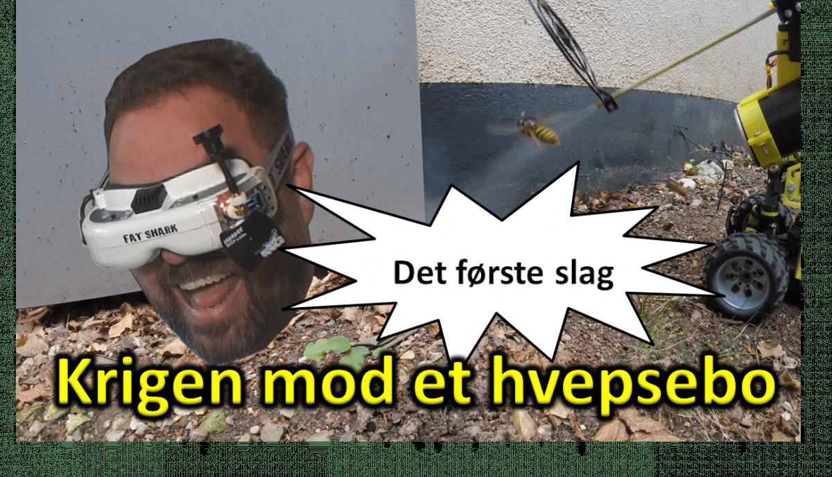 Nørd'o'teket versus HVEPSEBO: Første slag!