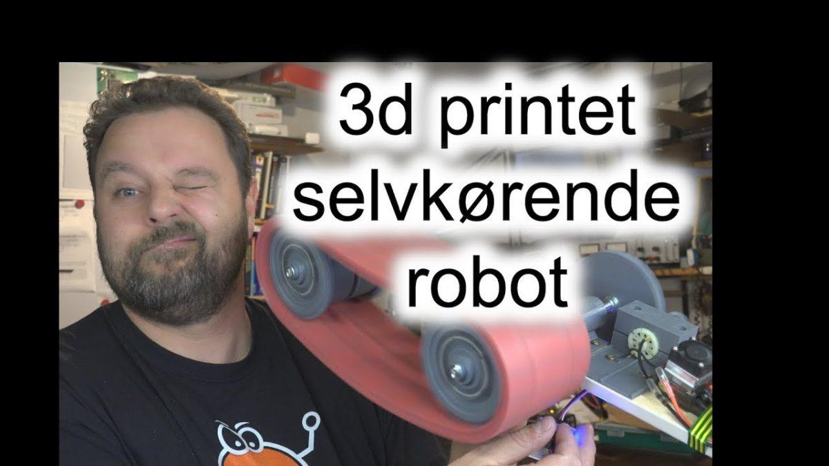 3d printet selvkørende robot – Del I: Bælterne