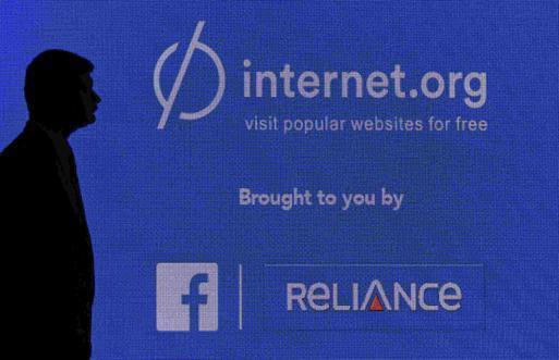 Indien, Facebook, Internet.org og net neutralitet