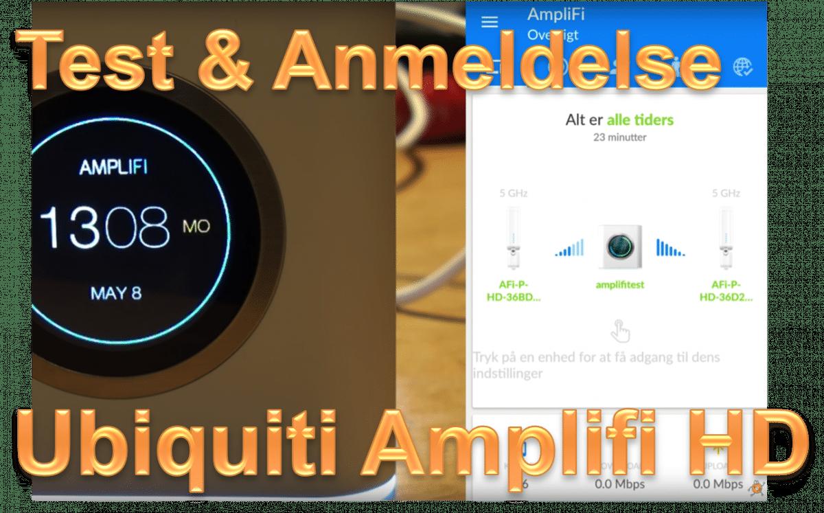 Ubiquiti Amplifi HD: Test og anmeldelse