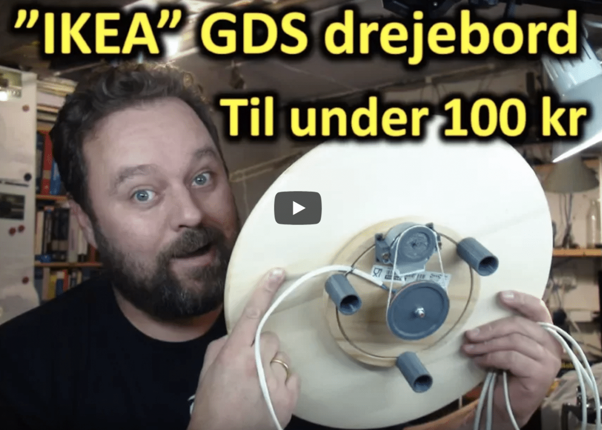 GDS drejebord til video/foto
