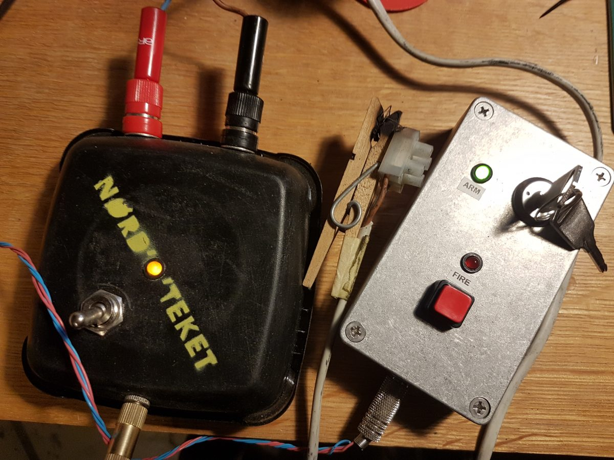 Gør-det-selv: Elektrisk raketaffyring