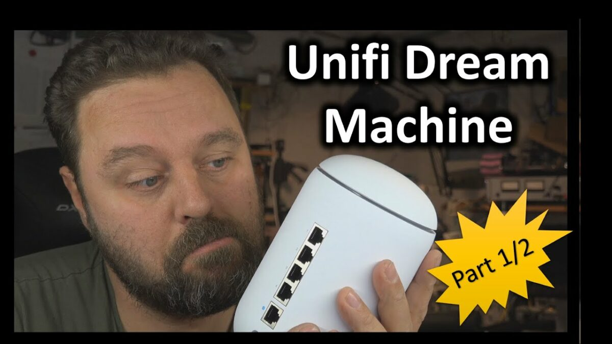 WiFi test: Unifi Dream Machine, Del 1