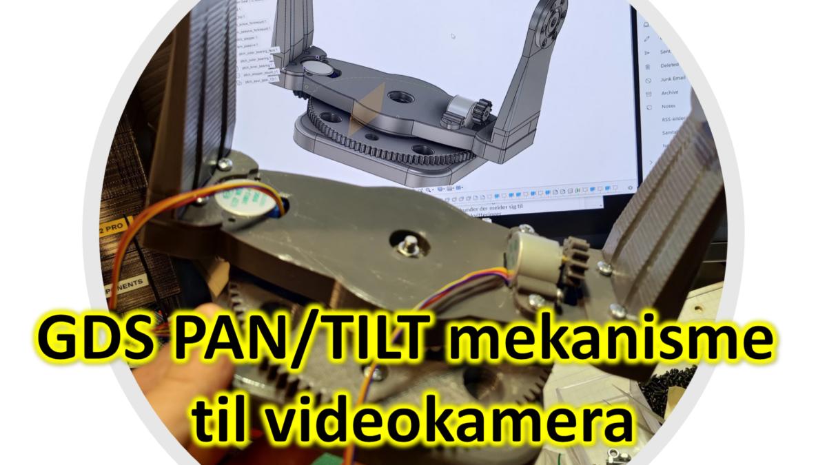 GDS PAN/TILT mekanisme til videokamera